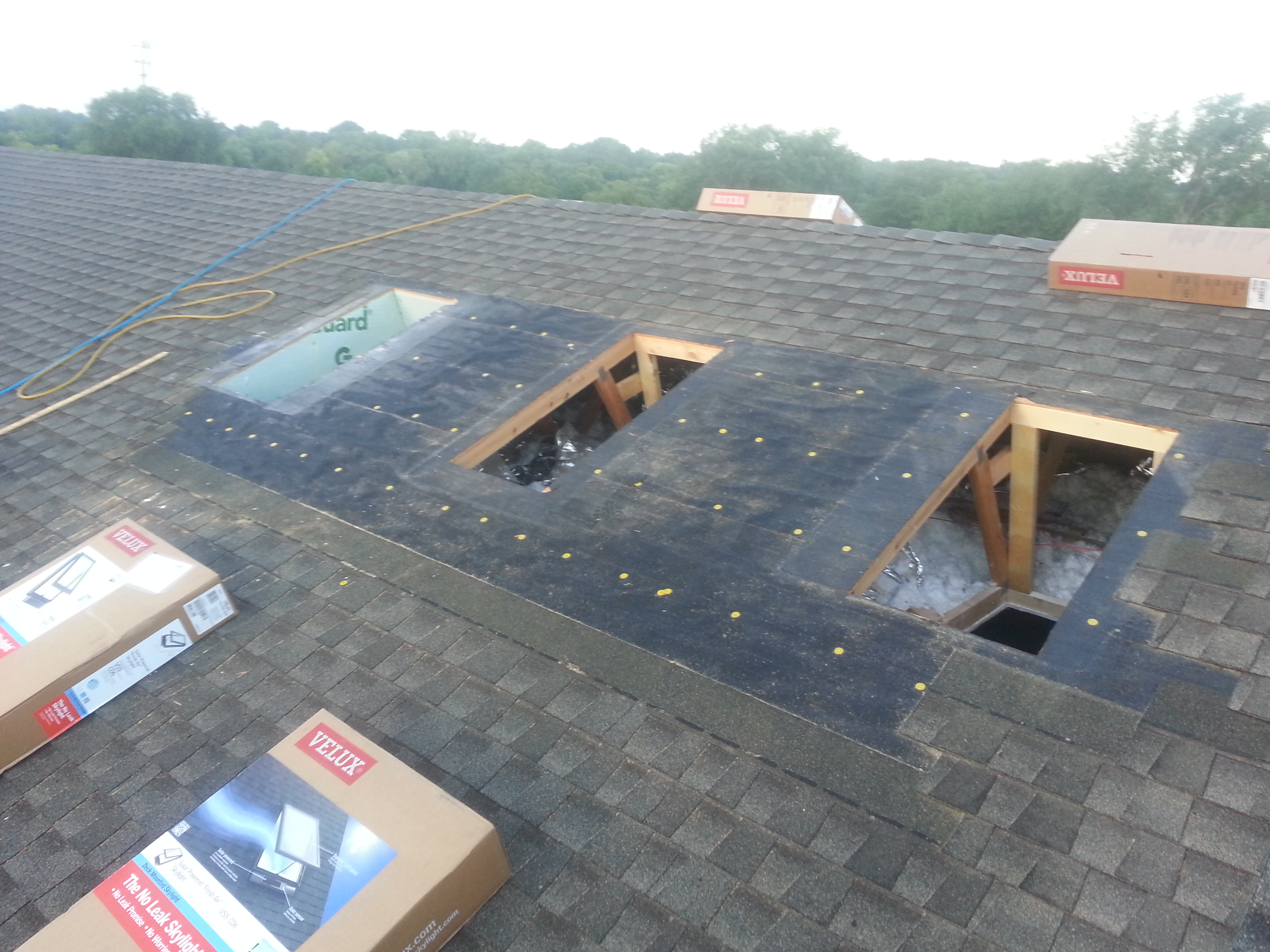 New Skylight Installation