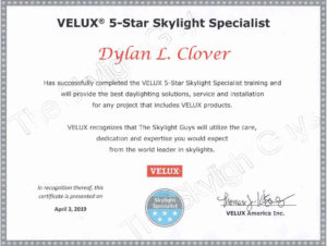 Velux_certificate_Dylan