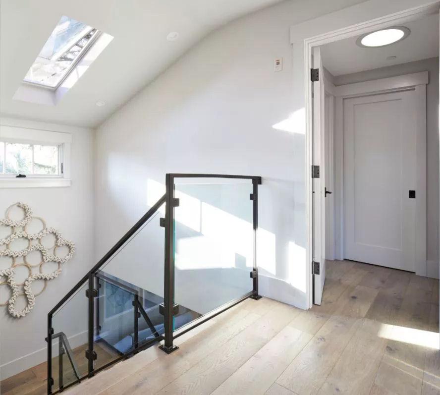 Sun Tunnel Sunlit Stairwell