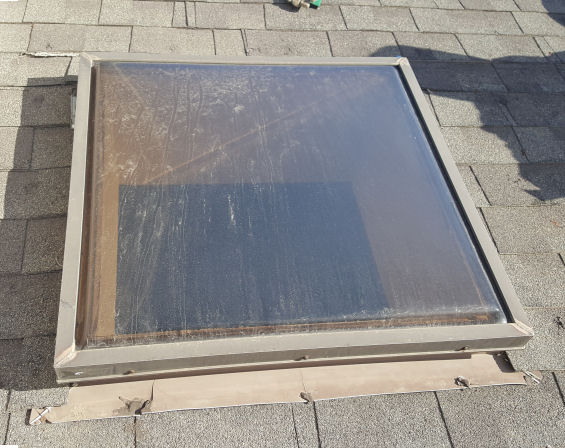 skylight replacement before
